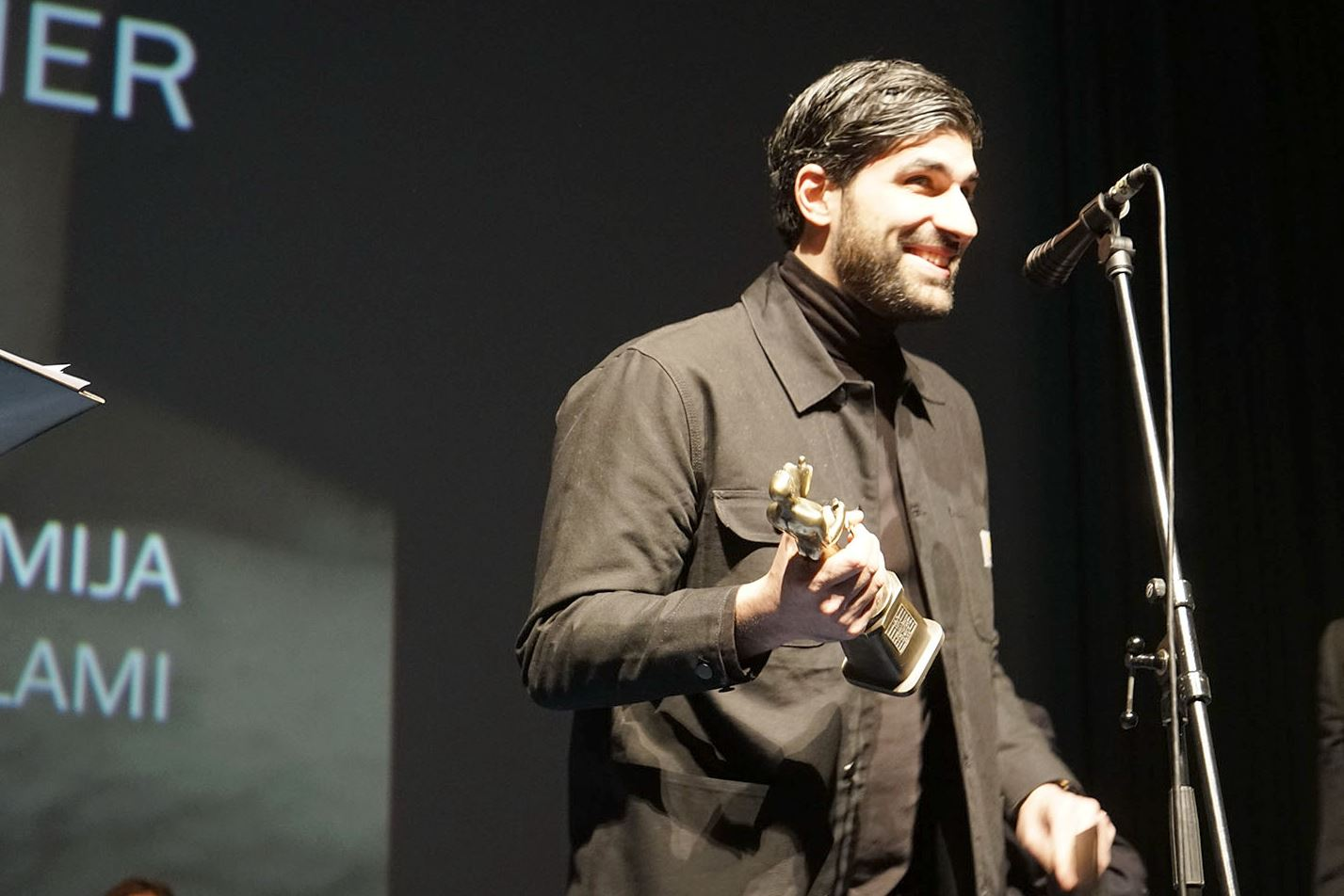 "FILM ""THE CHARMER"" WINS BELGRADE VICTOR AWARD OF THE 46TH FEST"